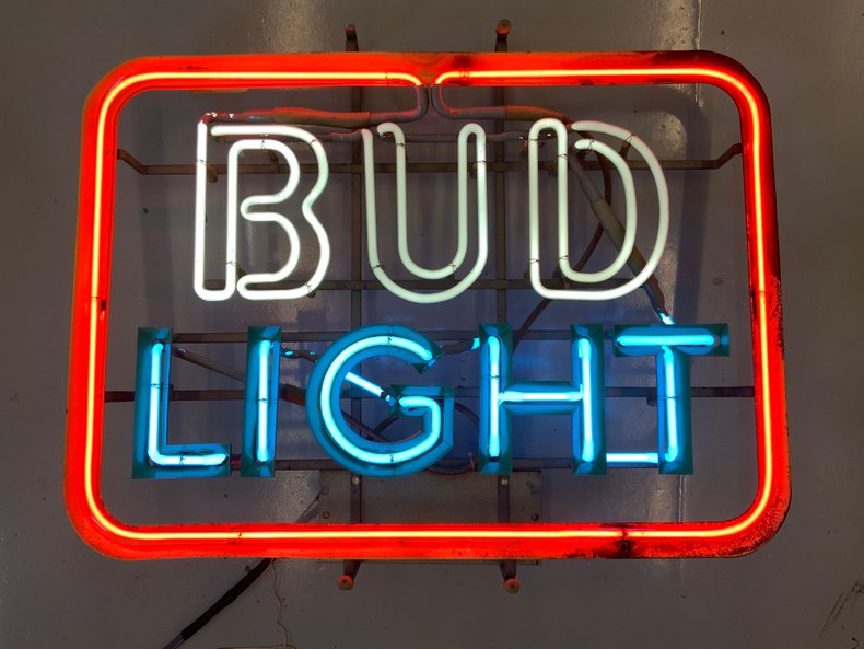 Original Bud Light Beer Neon