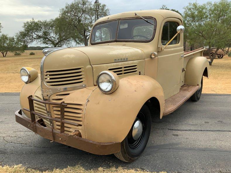 1947 Dodge 100 Flathead 6 3 speed 12 Volt cool body style
