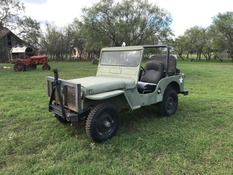 1951 Willys CJV35/U Very Rare, Running, Needs TLC