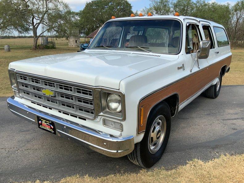 1978 Chevrolet Suburban Silverado 454 auto PS PB Dual AC
