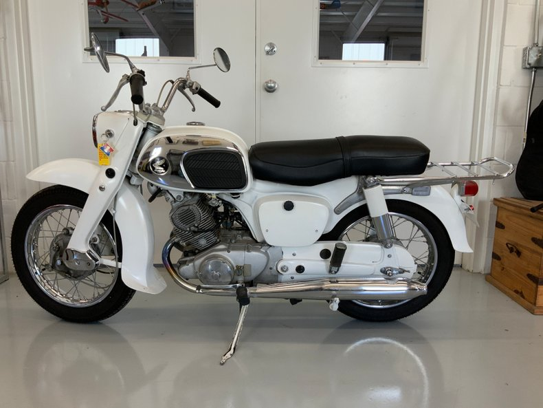 1966 Honda Dream 150
