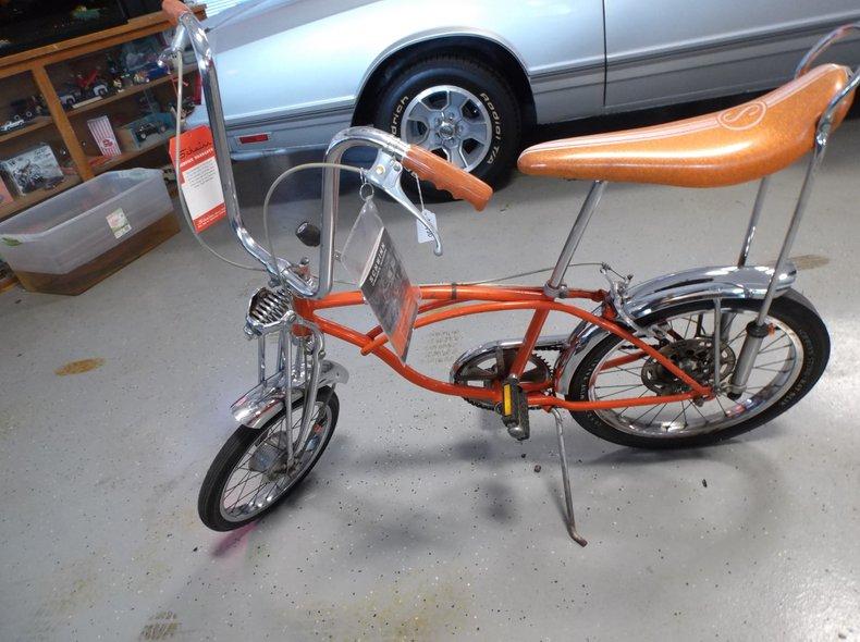 1970 Schwinn Bike Orange Crate