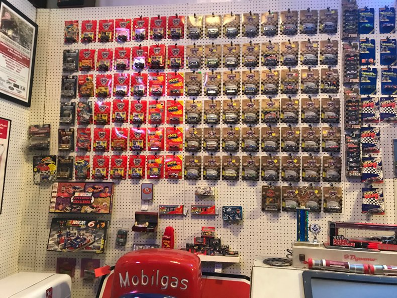 Huge collection of 80's-90's nascar collectibles