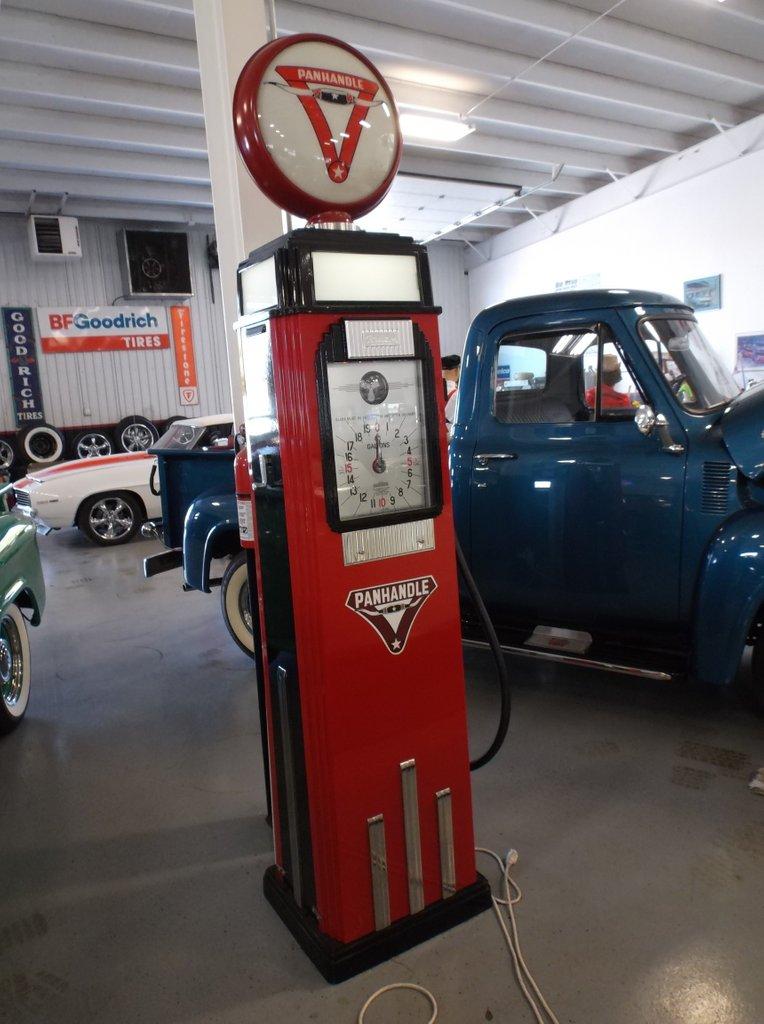 Pan Handle Gas Pump