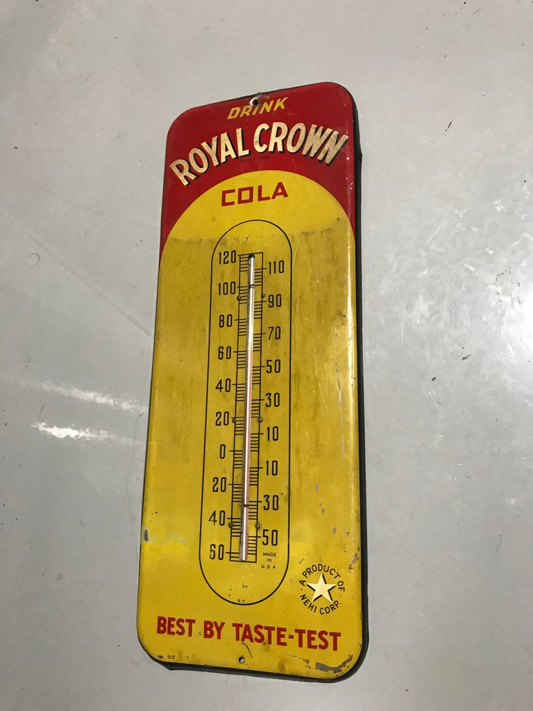 Original Royal Crown thermometer