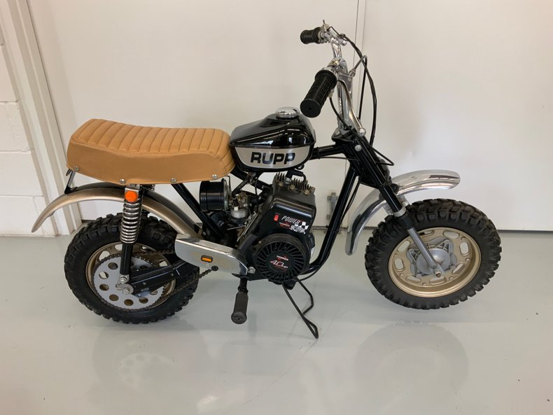 Restored 1970 Rupp set up for office display