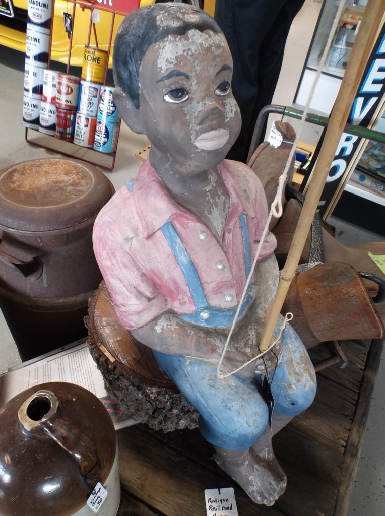 Folk Art Fisherman