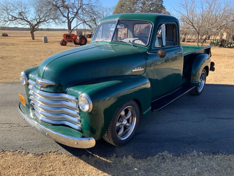 1953 Chevrolet 3100 5 window deluxe cab 454 auto ac ps pb
