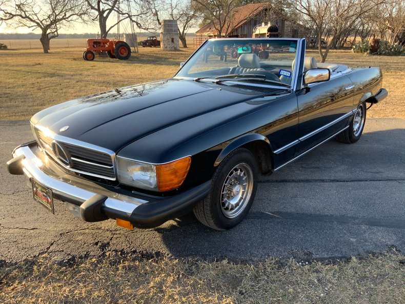 1985 Mercedes-Benz 380 Series 2dr Coupe 380SL
