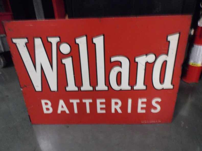 Willard Battery Sign