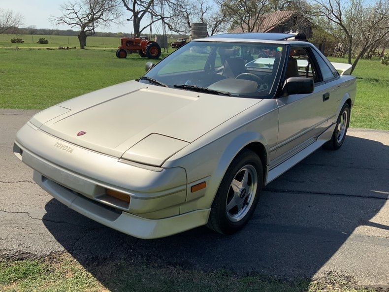 1987 Toyota MR2 2dr Coupe 5-Spd