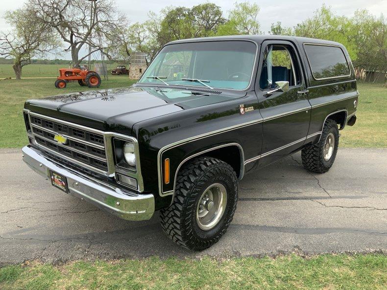 1979 Chevrolet Blazer 4WD 400 V8 ps pb ac slick rig