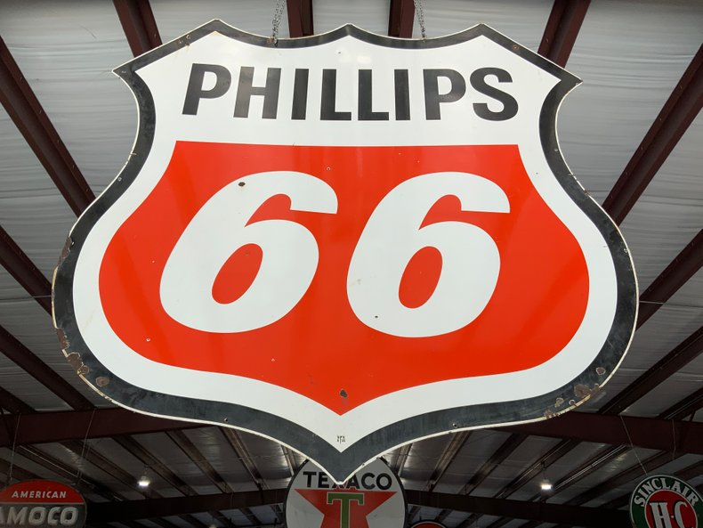 Original 1965 Phillips 66 6 ft sigh