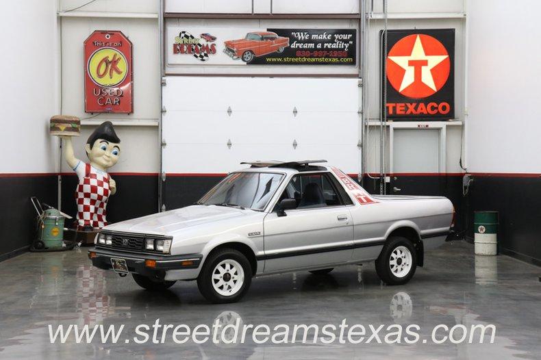 1986 Subaru Brat For Sale 66923 Mcg