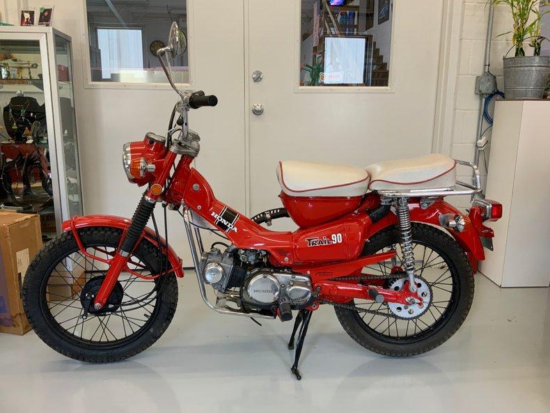 1971 Honda CT 90