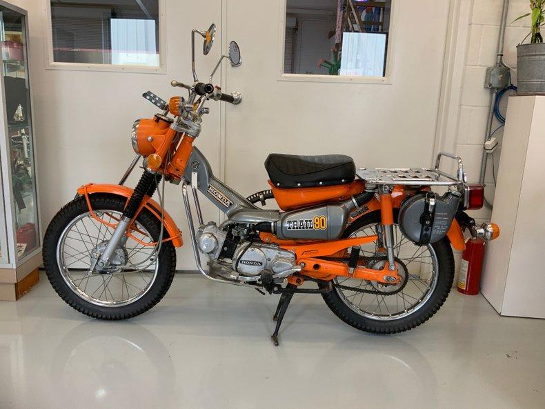 1974 Honda CT 90