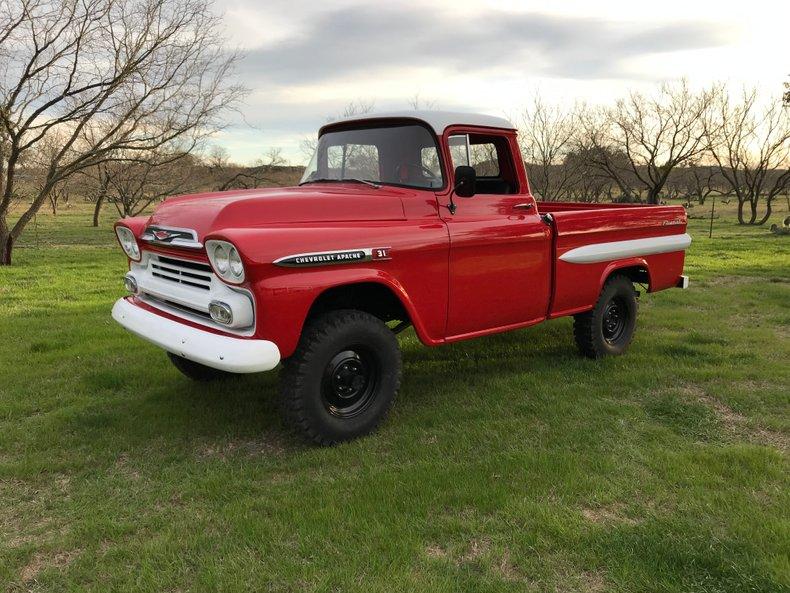 1959 Chevrolet 3100 Apache