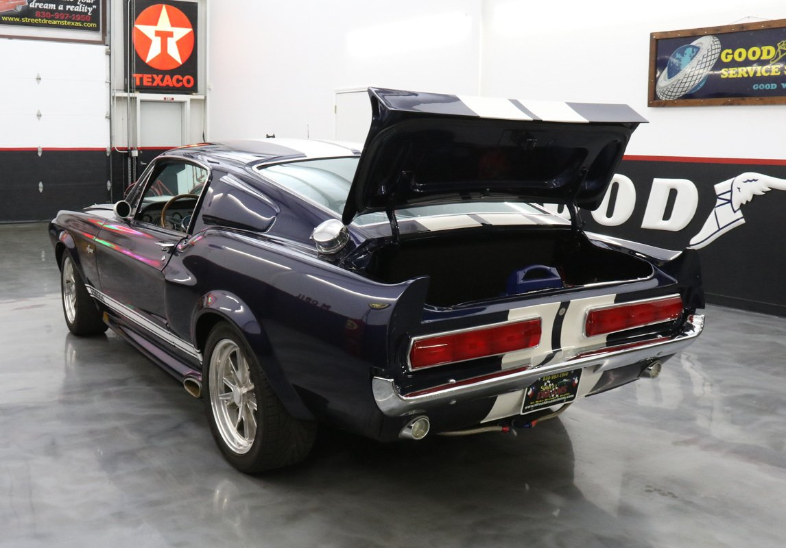 1967 Ford Mustang Shelby GT 500-e Eleanor style Supercharged