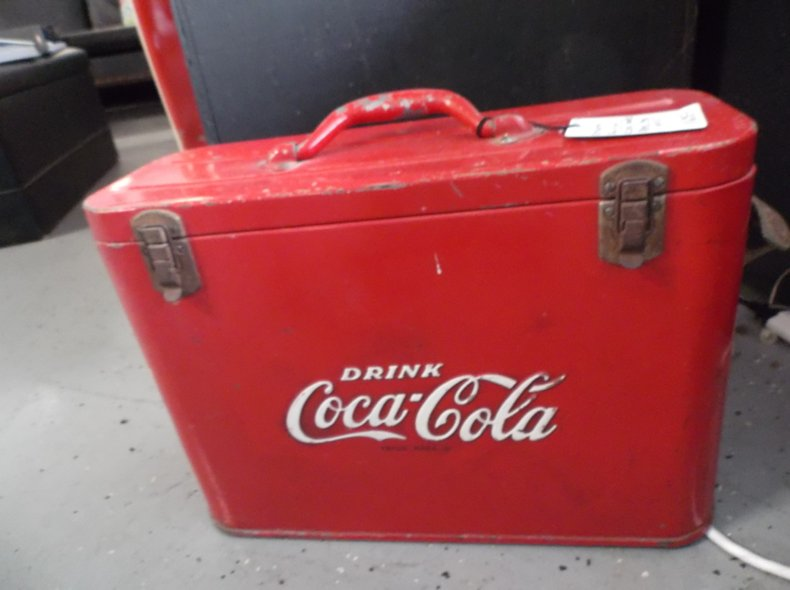 Rare Airline Coca-Cola Cooler