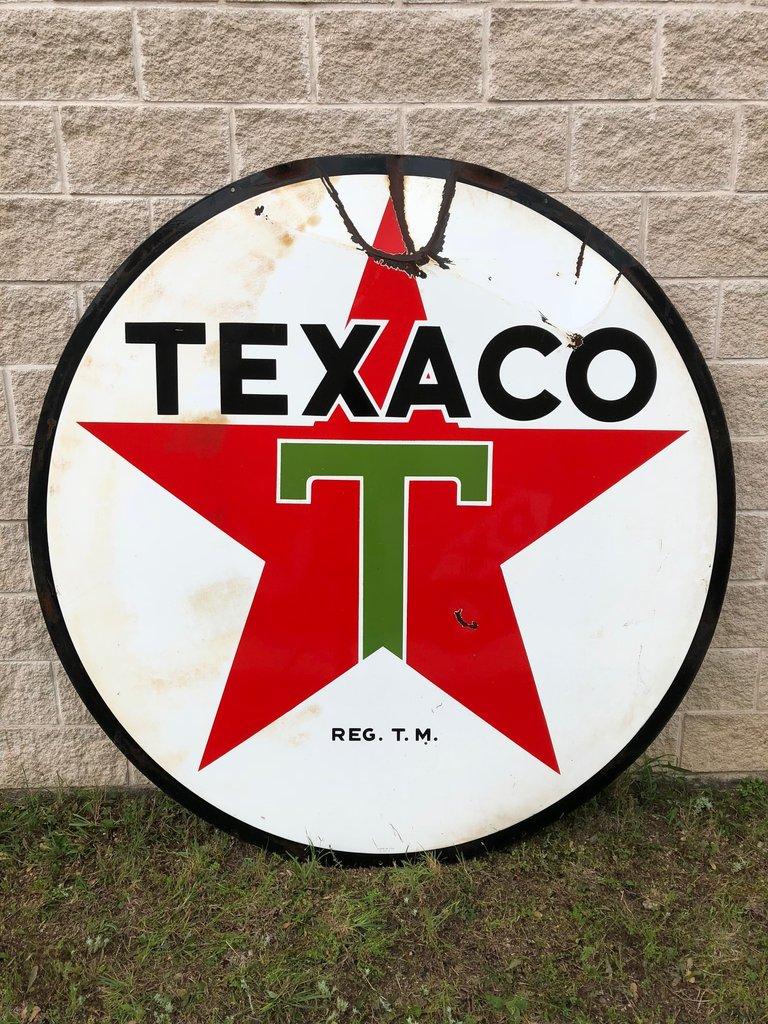1955 Texaco Sign