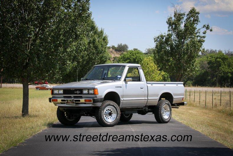1982 Datsun 720 Pickup 4 x 4 55k original miles new tires