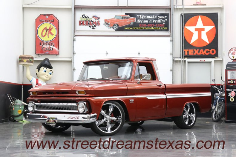 1965 Chevrolet LS V8 Auto w/OD AC leather nice wood killer truck