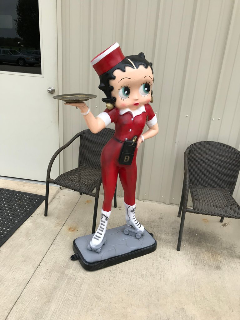 Betty Boop 5 ft tall