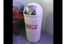 Coke trash can