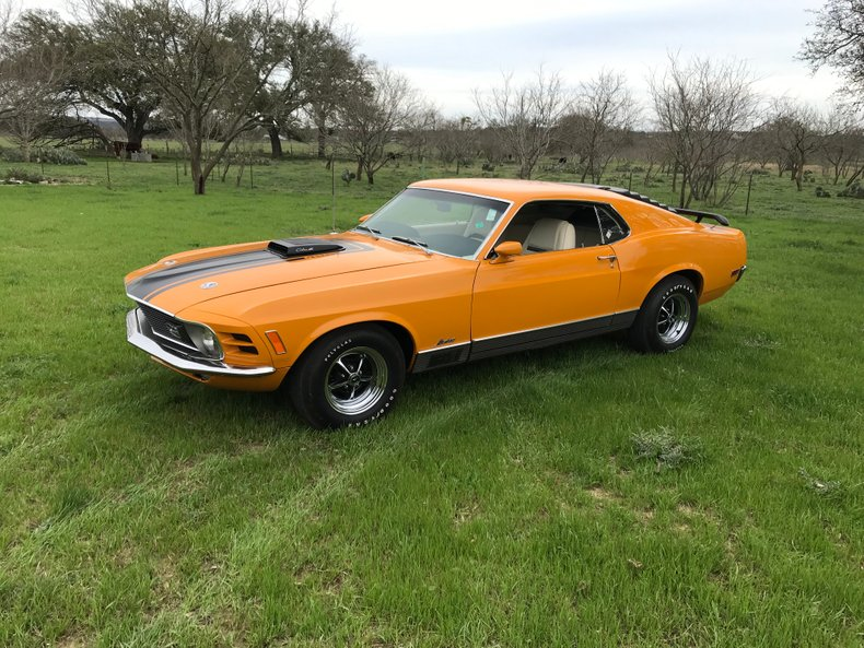 1970 Ford Mustang Mach1 For Sale