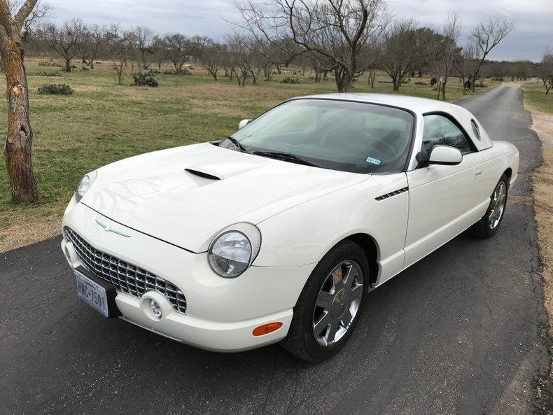 2002 Ford Thunderbird, 18K miles, 2 Tops