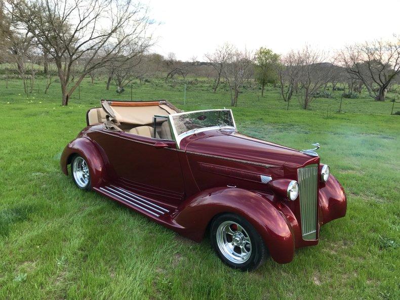 1937 Packard 120 Super rare Packard street rod with rumble