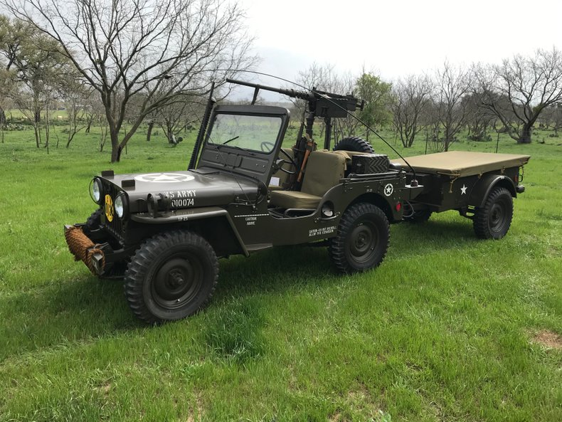 1951 Willys Military Jeep