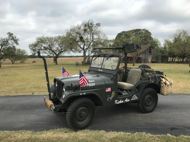 1952 Willys Military Jeep