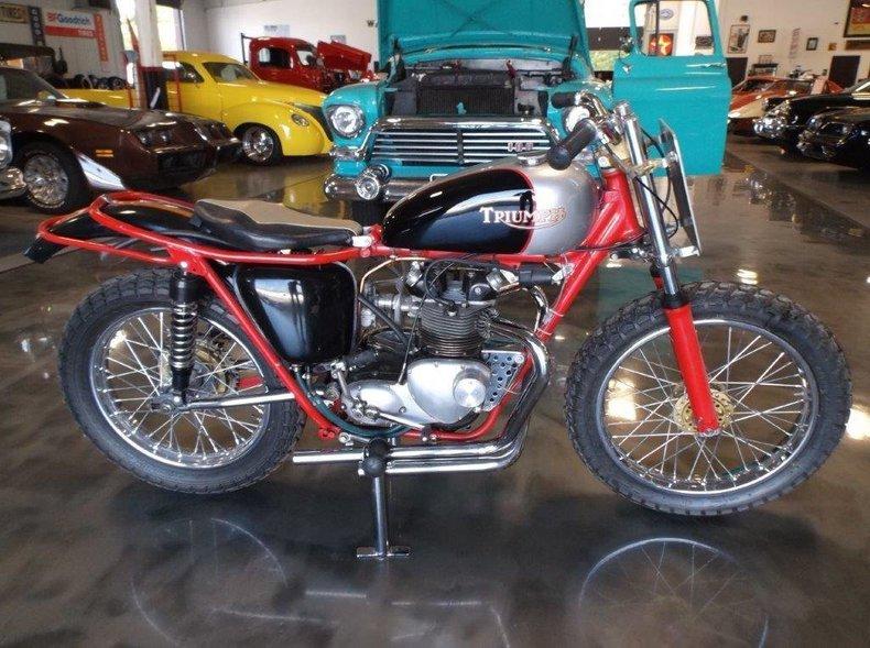 1963 Triumph T100/SS