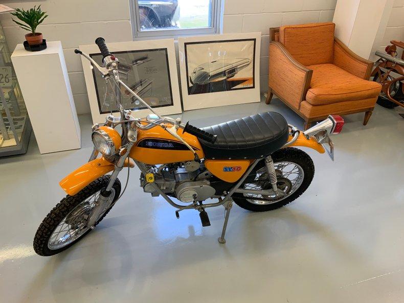 1970 Honda SL 70