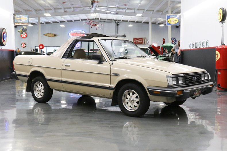 1986 subaru brat for sale 65856 mcg. Black Bedroom Furniture Sets. Home Design Ideas