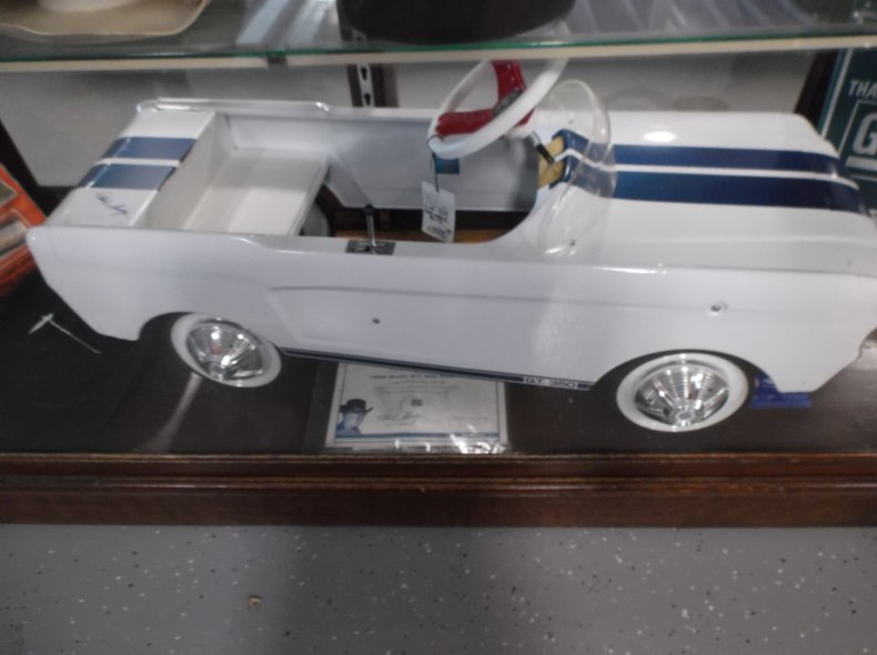 Mustang GT-350 Pedal Car Signed by Carol Shelby