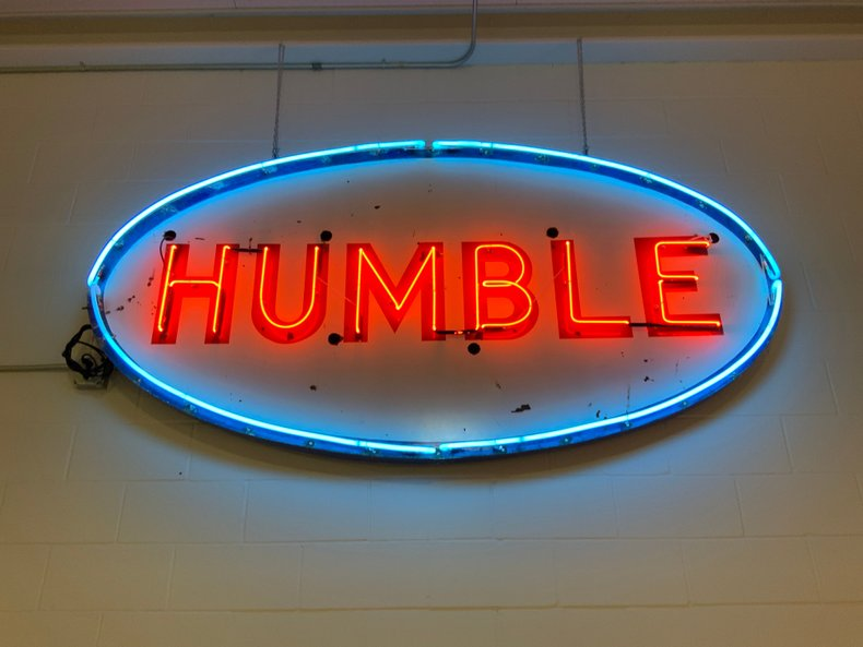 Humble Neon Sign
