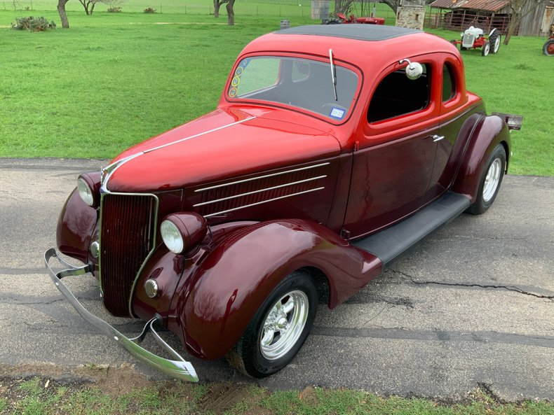 1936 Ford Coupe Steel 5 window coupe ac disc cruiser