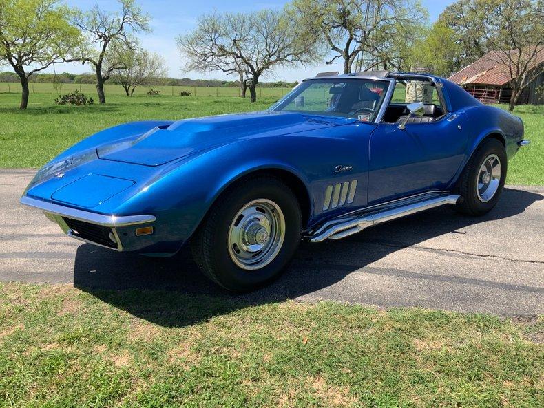 1969 Chevrolet Corvette 427 4 speed side pipes needs TLC