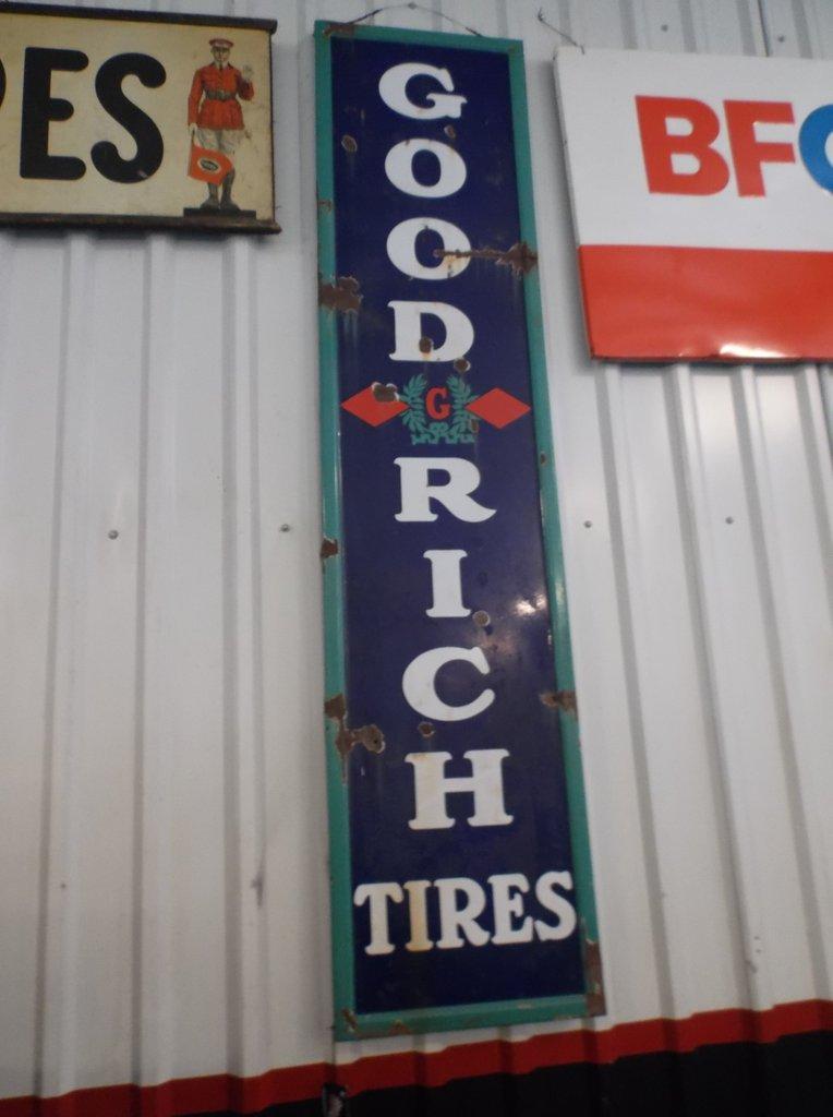 Goodrich Tires Sign