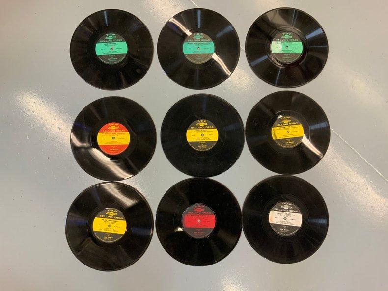 ORIGINAL CHEVROLET TRAINING VINYL RECORD
