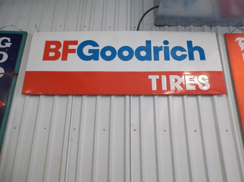 BF Goodrich Tires Sign