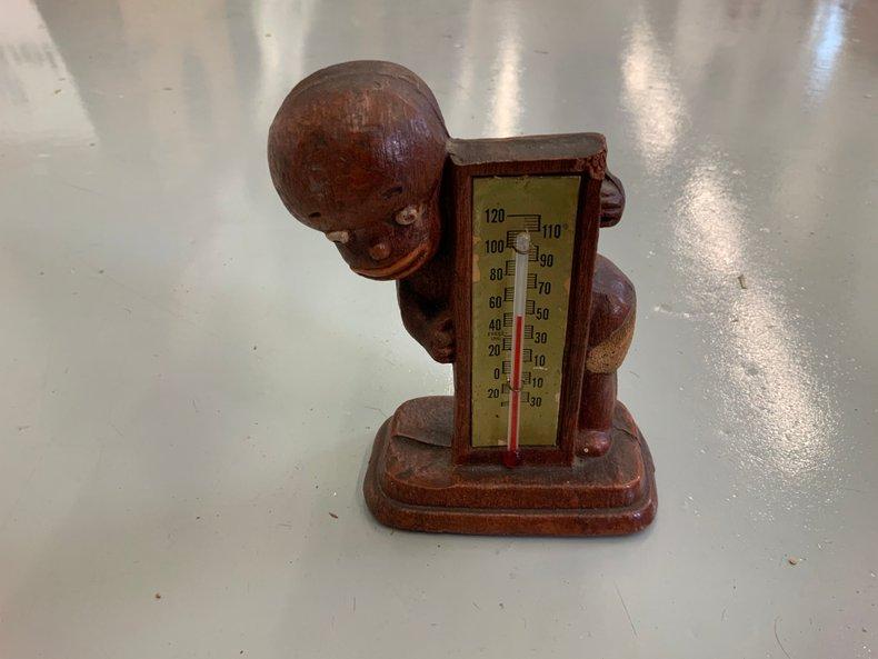 Folk Art Thermometer