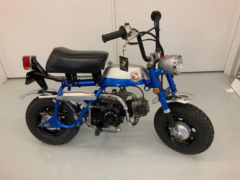 Restored 1971 Honda Z50