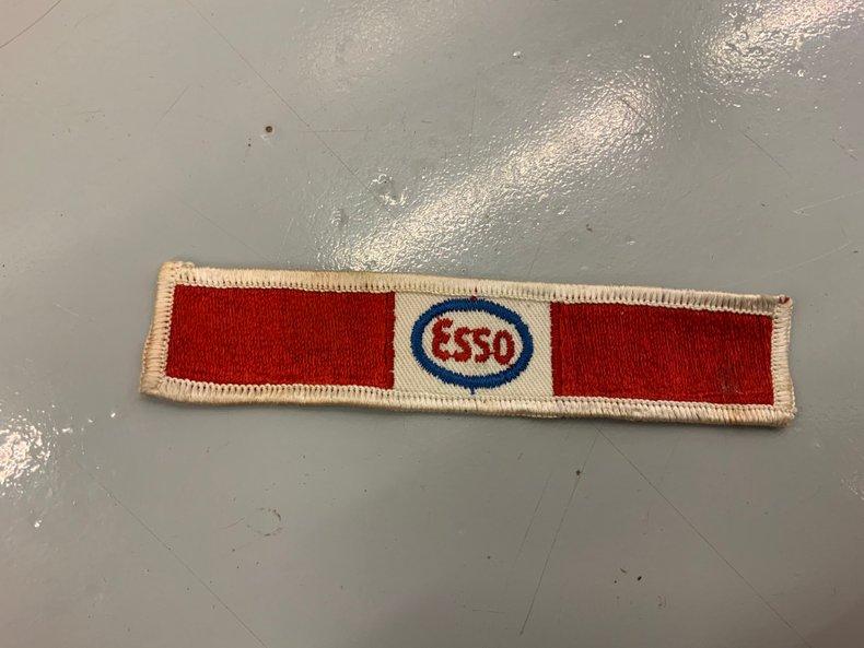 Esso shirt patch good condition