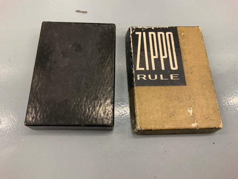Original International Harvester Zippo Tape measure in the original box