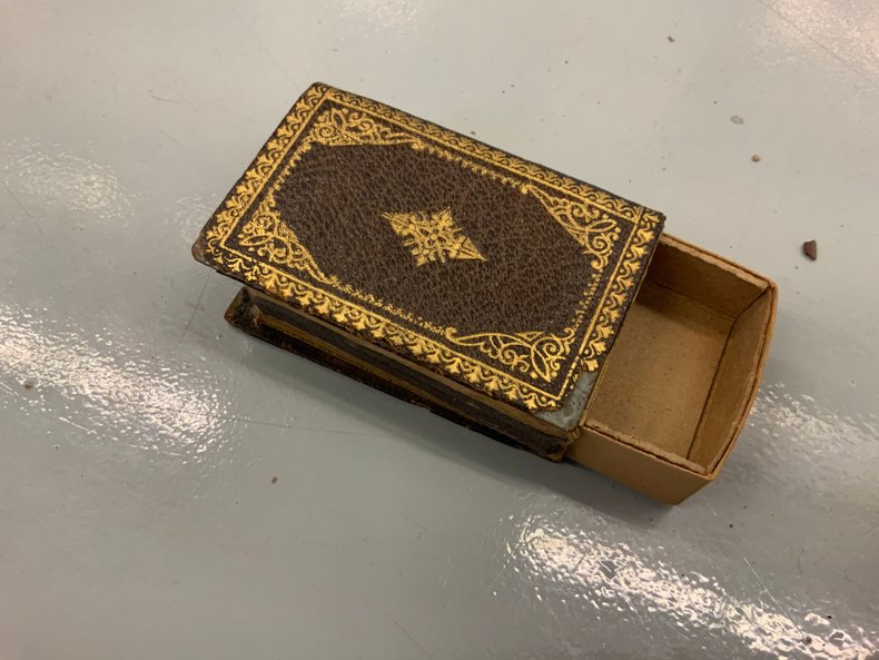 Brown Book Style Match Book