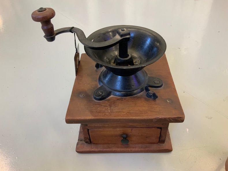Antique Hand Coffee Grinder