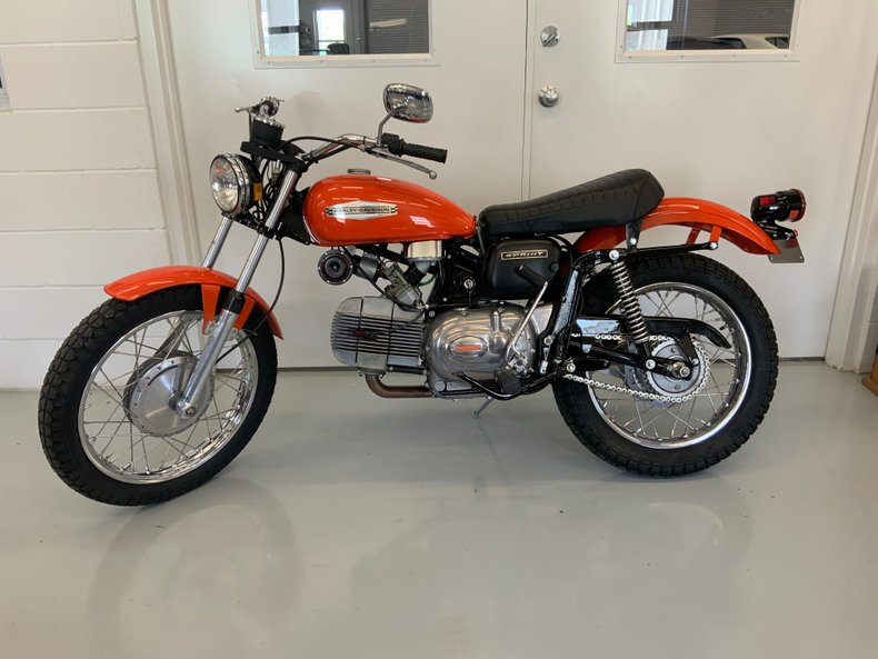 1972 Harley Davidson Aermacchi 350 Sprint